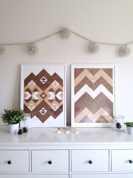 Not just for your tree! Looks great above a headboard too.