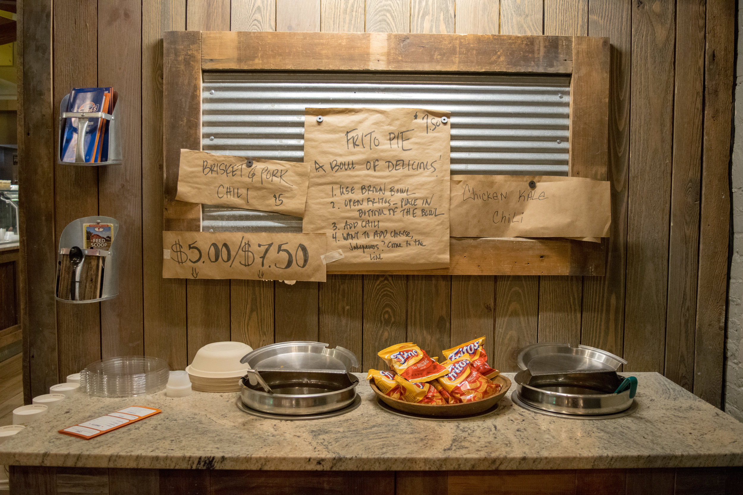 Do-it-yourself Frito Pie bar