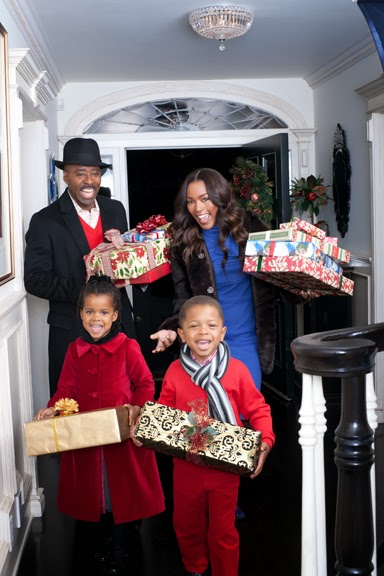 """Merry Christmas"" Created for Angela Bassett and Courtney Vance"