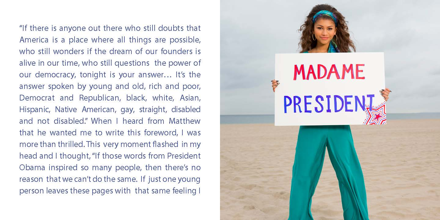 The Zendaya Foreword in Future American President