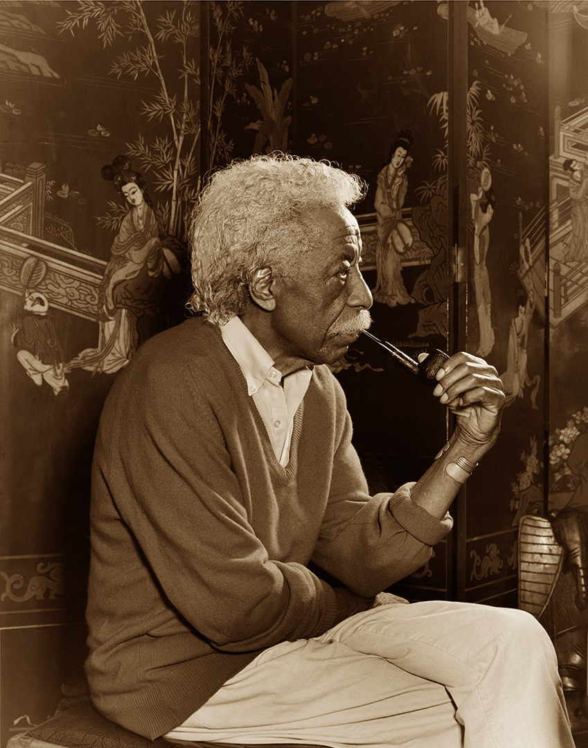 Caption: Gordon Parks by Matthew Jordan Smith © Copyright 1999
