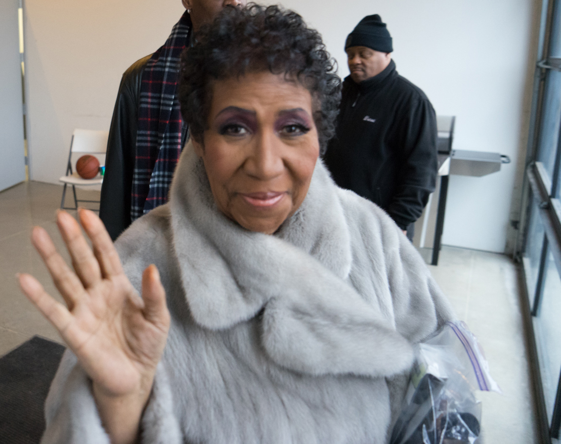 Aretha Franklin's last photo shoot