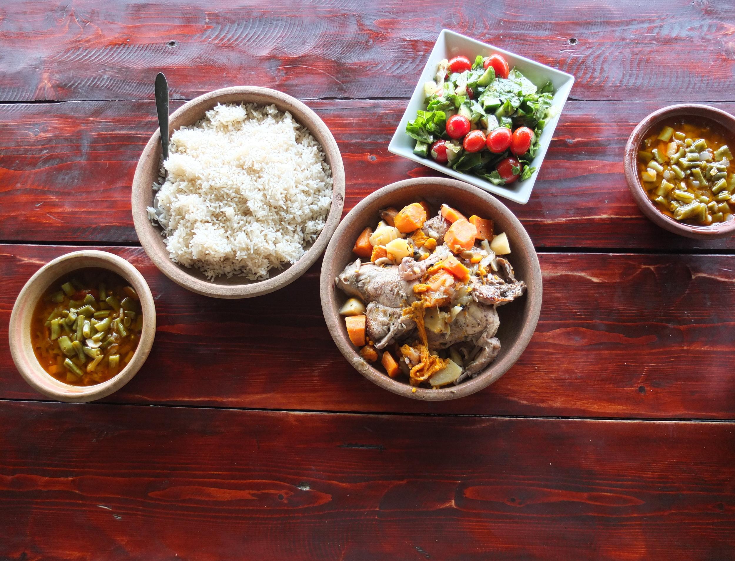 VICE Munchies, 7/16/14  Assorted Dishes  (Hosh Jasmin, Beit Jala, Palestine)
