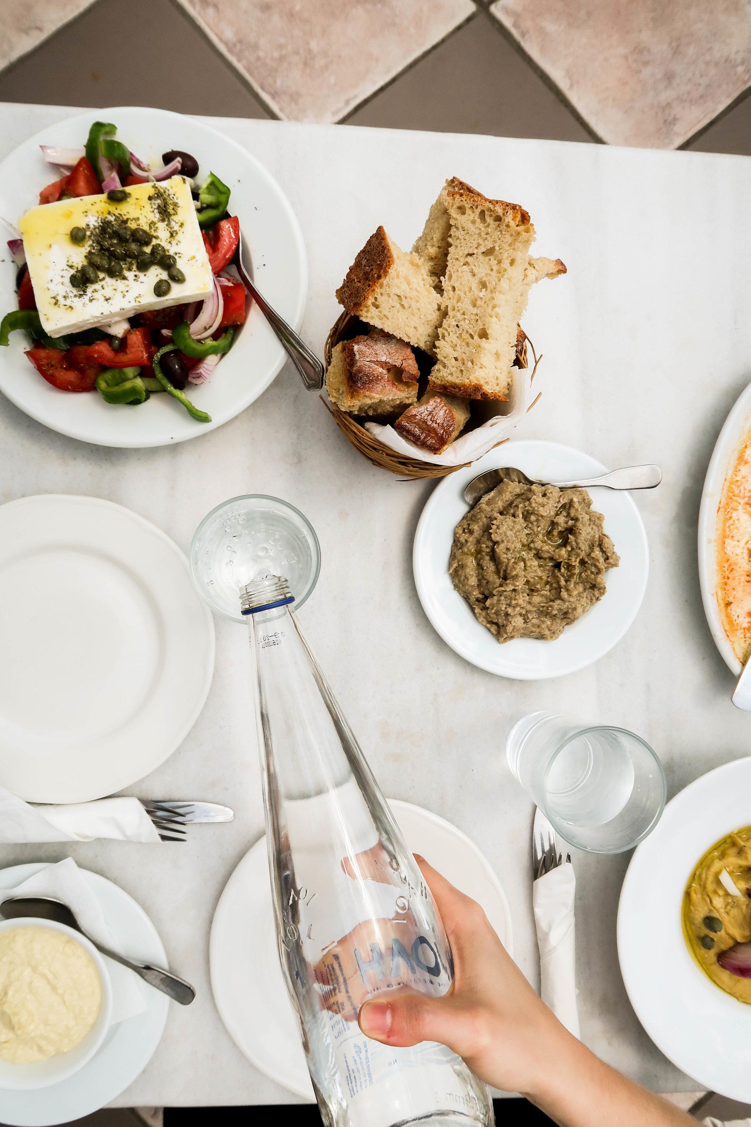 Lunch at Cafe Avissinia