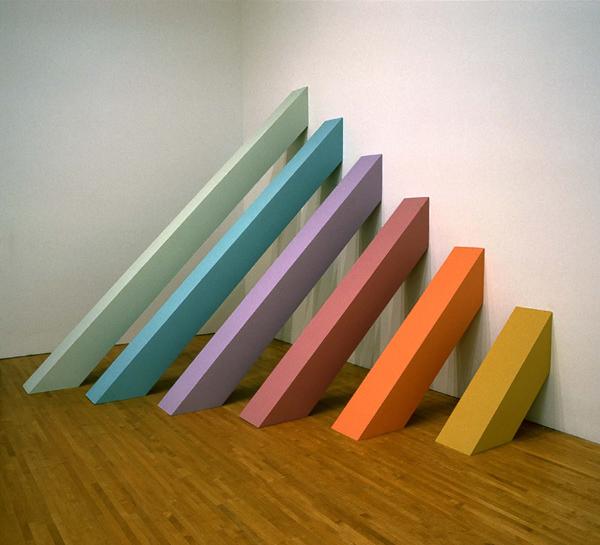 judy chicago //  rainbow pickett  // 1965/2004