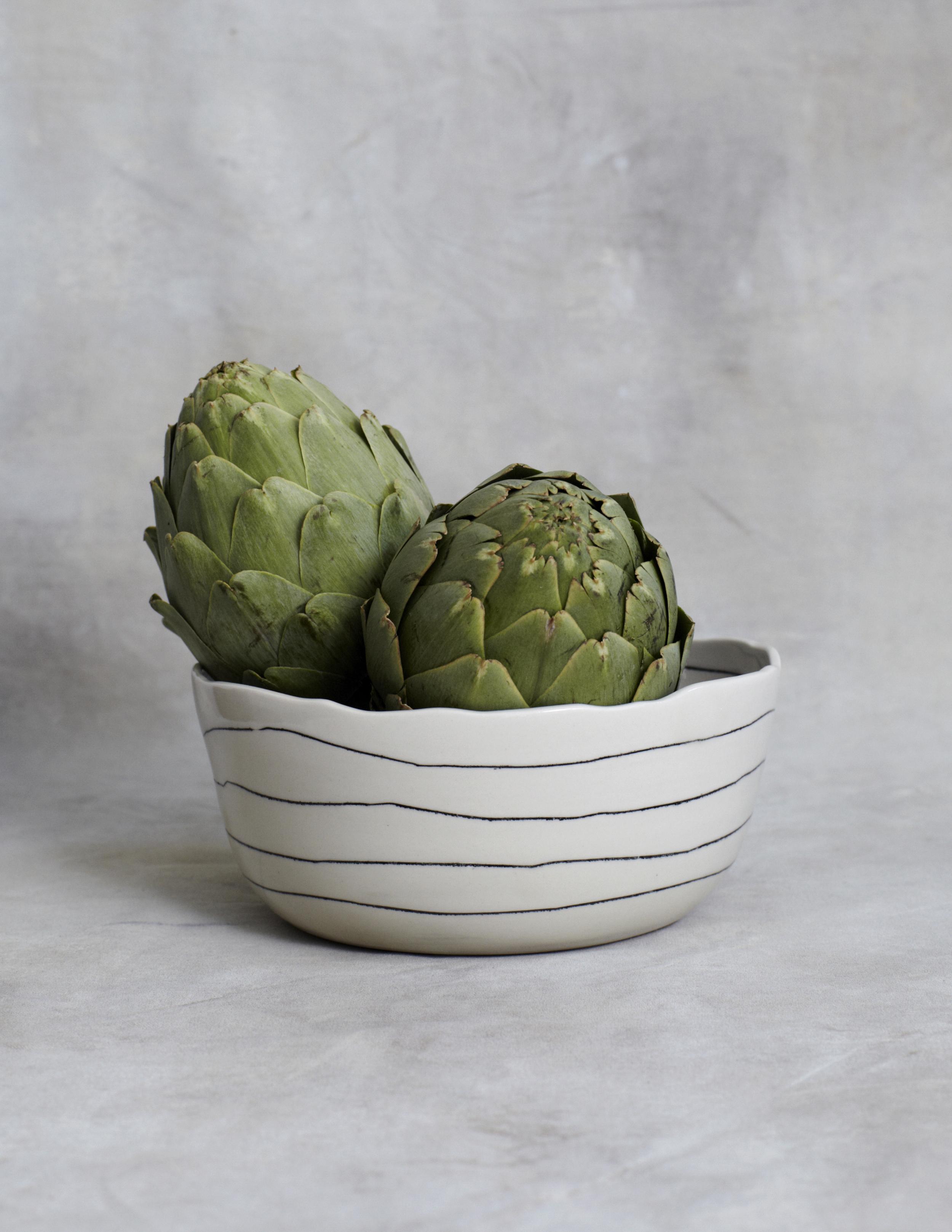 btw ceramics // small serving bowl