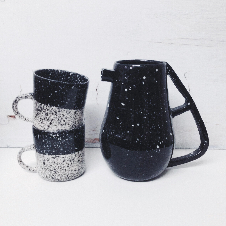 btw ceramics // speckled sets