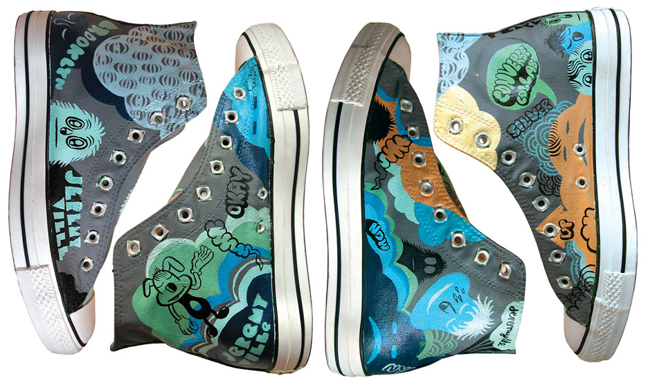 converse x jeremyville x damion silver