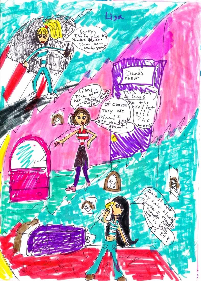 daryl's first comic // circa 1998