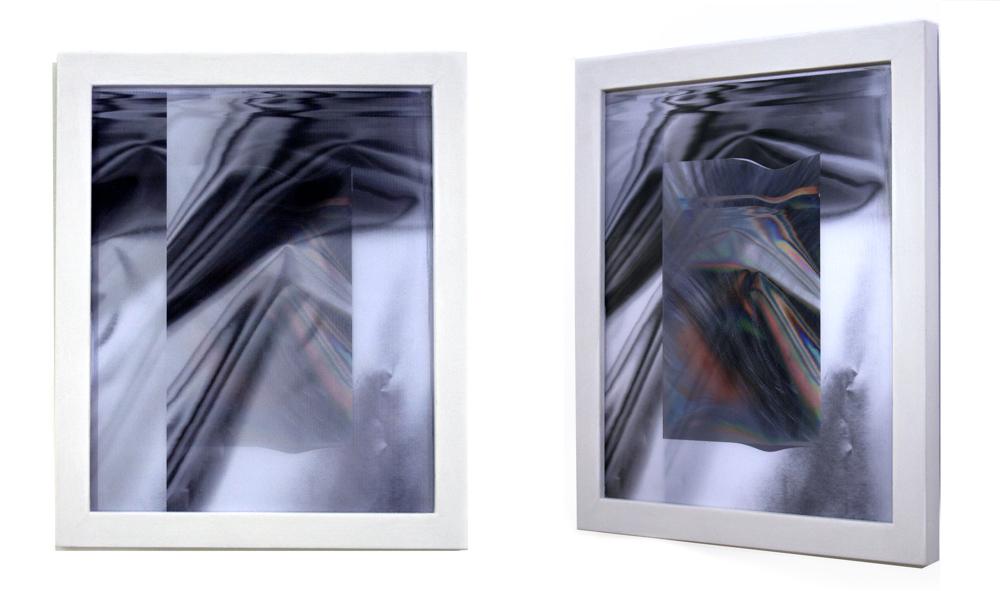 """anne vieux // screen view ii //lenticular print //8"""" x 10"""" each //2015"""