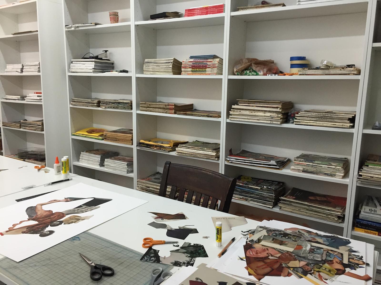 michael desutter // studio space // brooklyn, new york