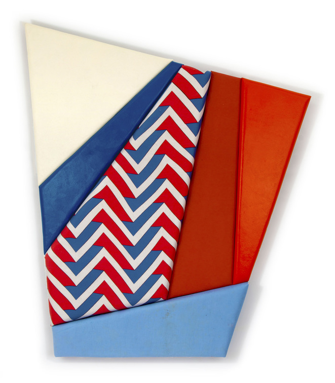"leah guadagnoli //wb //2015 //56"" x 48"" x 4"" //oil, acrylic, upholstery, fabric, canvas, and polyurethane foam on insulation board"