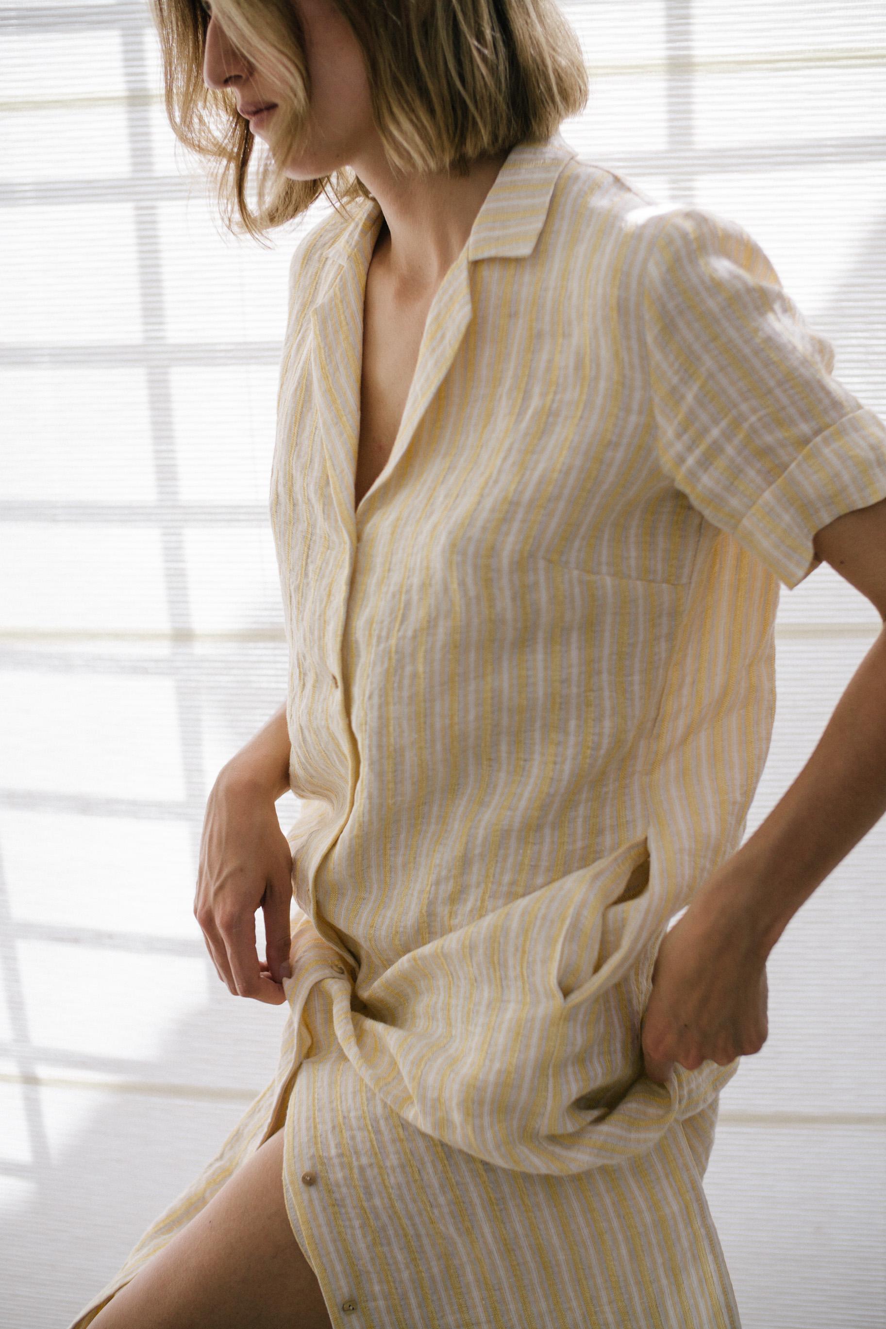sunad //  thar desert stripe dress