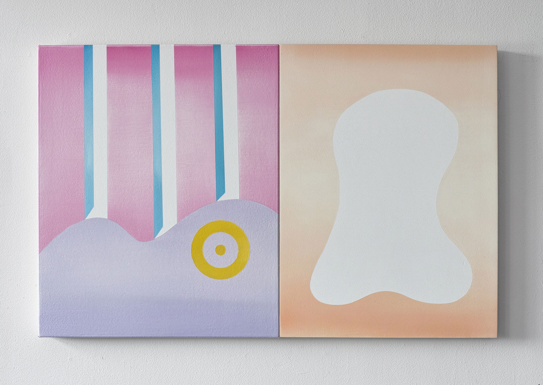 gregory c. brunet // sexuality // oil on canvas // 60.96cm x 106.68cm // 2015