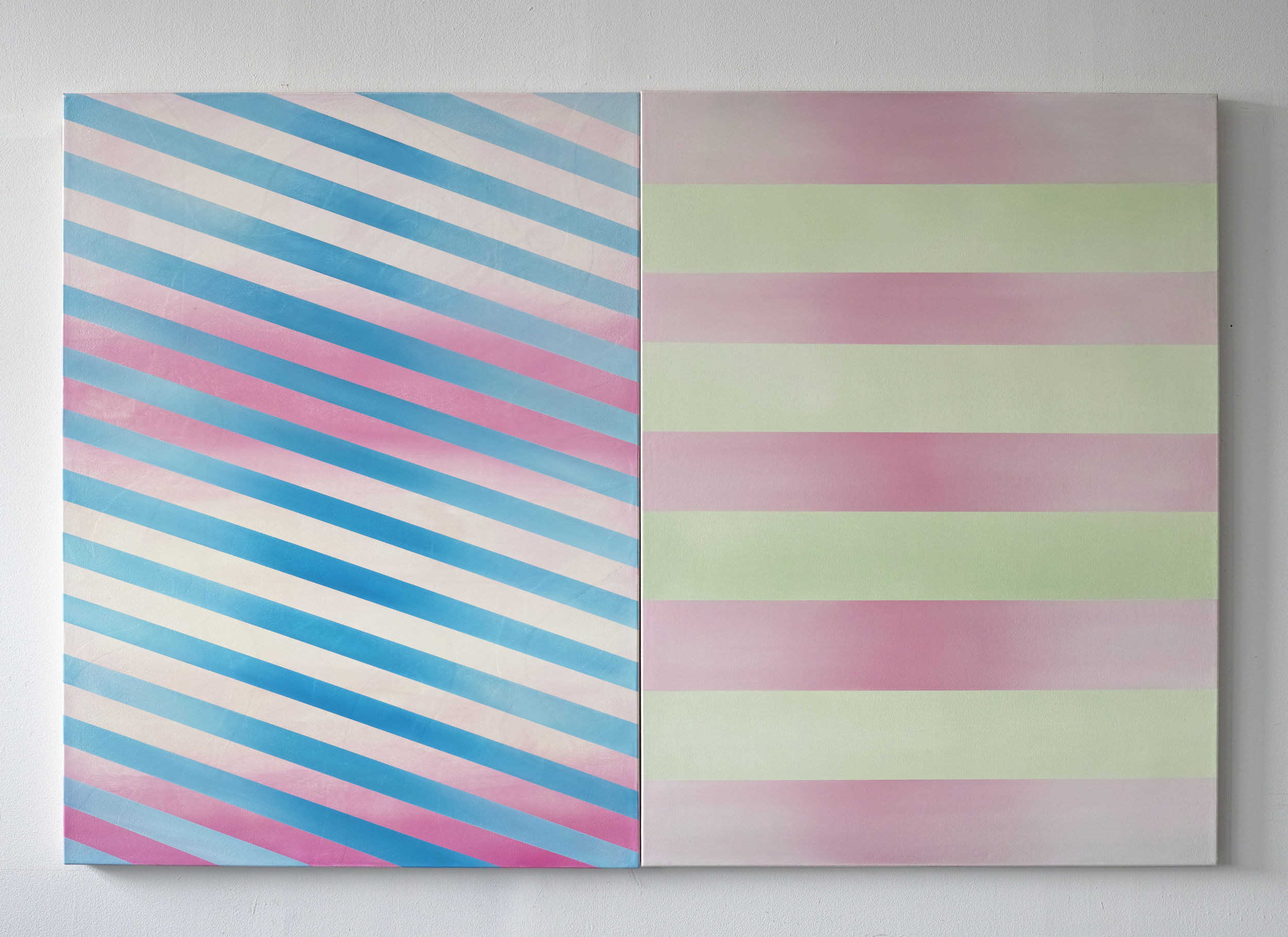 gregory c. brunet // #gradientforever // oil on canvas // 121.92 x 182.88cm // 2015
