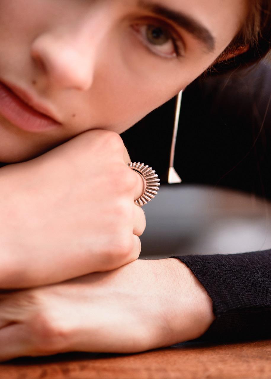 agmes //  bertrand ring +  drop earrings