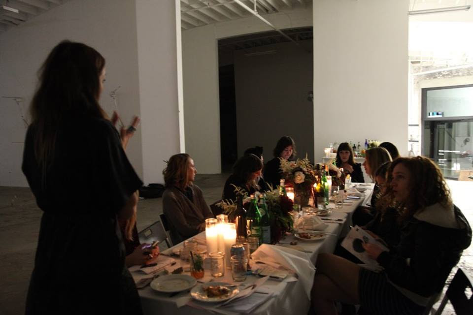 full moon supper club la // december 2016
