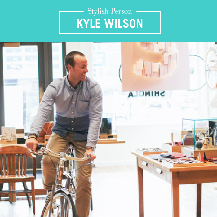 Stylish Person: Kyle Wilson  -  via Style-Architects