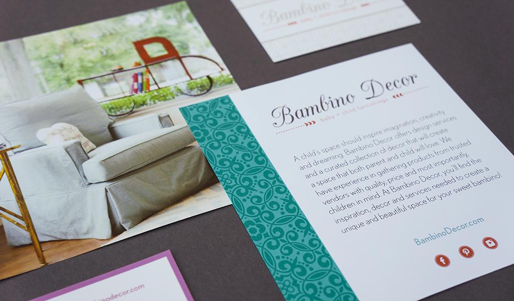 Bambino Decor branding designed by Style-Architects