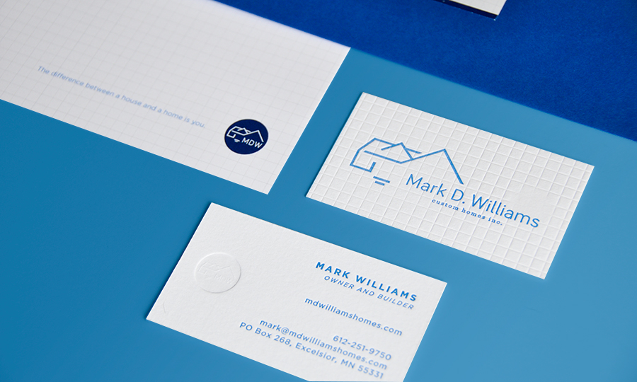 Mark D. Williams Custom Homes - branding by Style-Architects