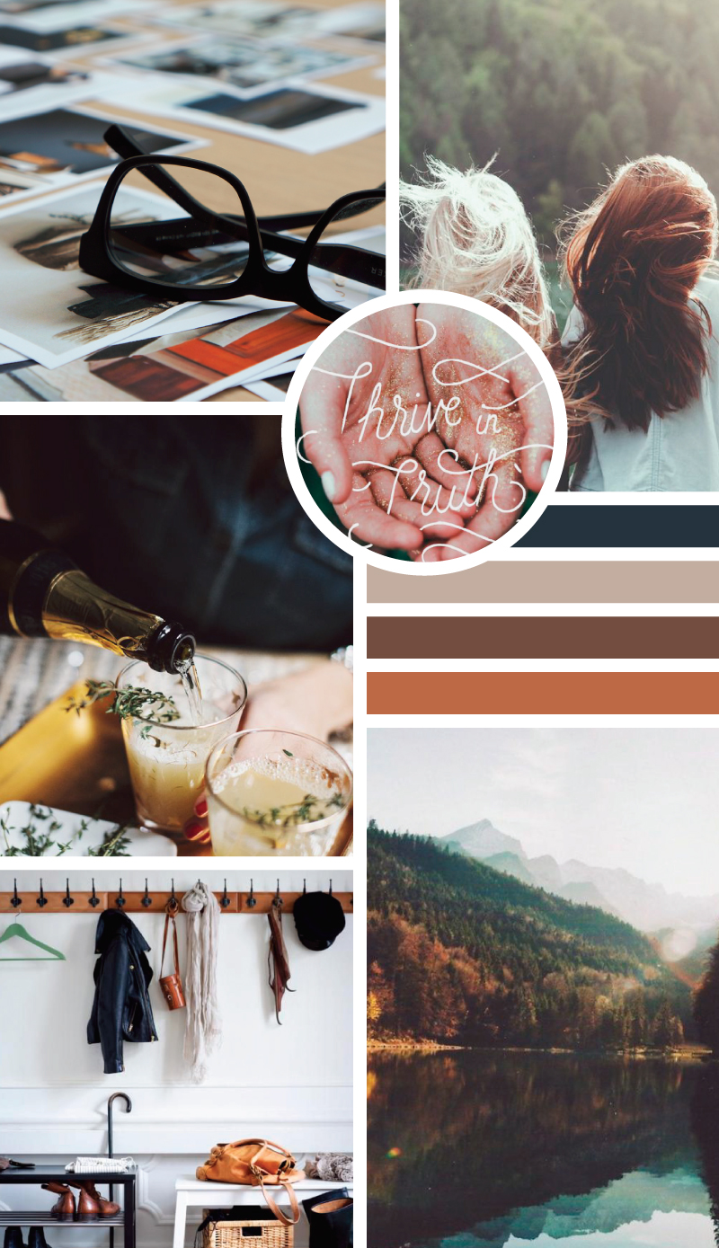 Earthy Hues Mood Board - by Style-Architects