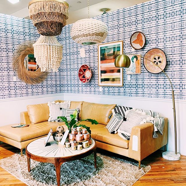 What's better than decor galore? ⠀ ⠀ #anthropologie #fashion #art #picoftheday #style #girly #instamood #design #furniture #decor #lifestyle #inspiration #shopping #instagood #layout #cozy #patterns