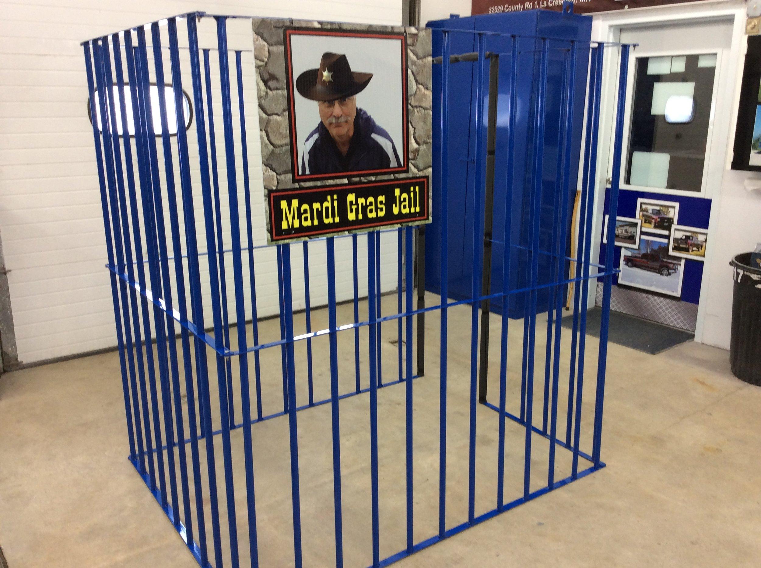 Crucifixion Mardi Gras Fundraiser Jail