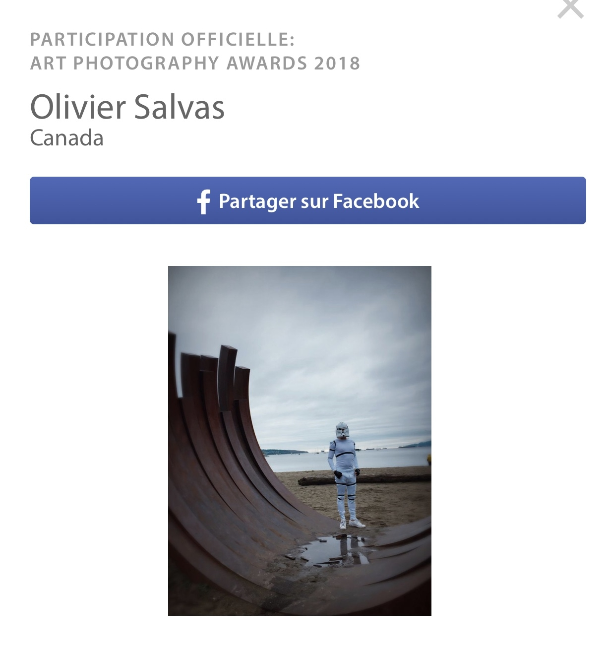Create|IV candidacy at the LensCulture Photography Awards