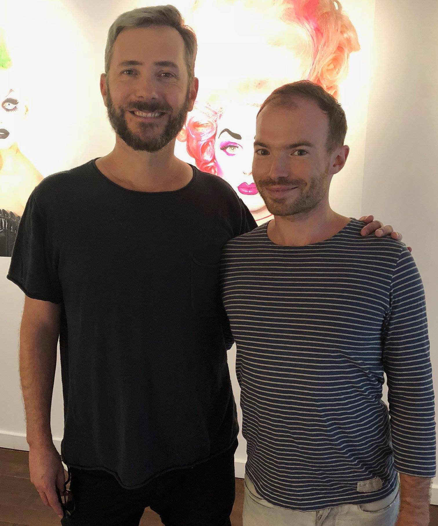 With  Michael Venus  from Never Apart. Taken from OutlookTV, September 2018