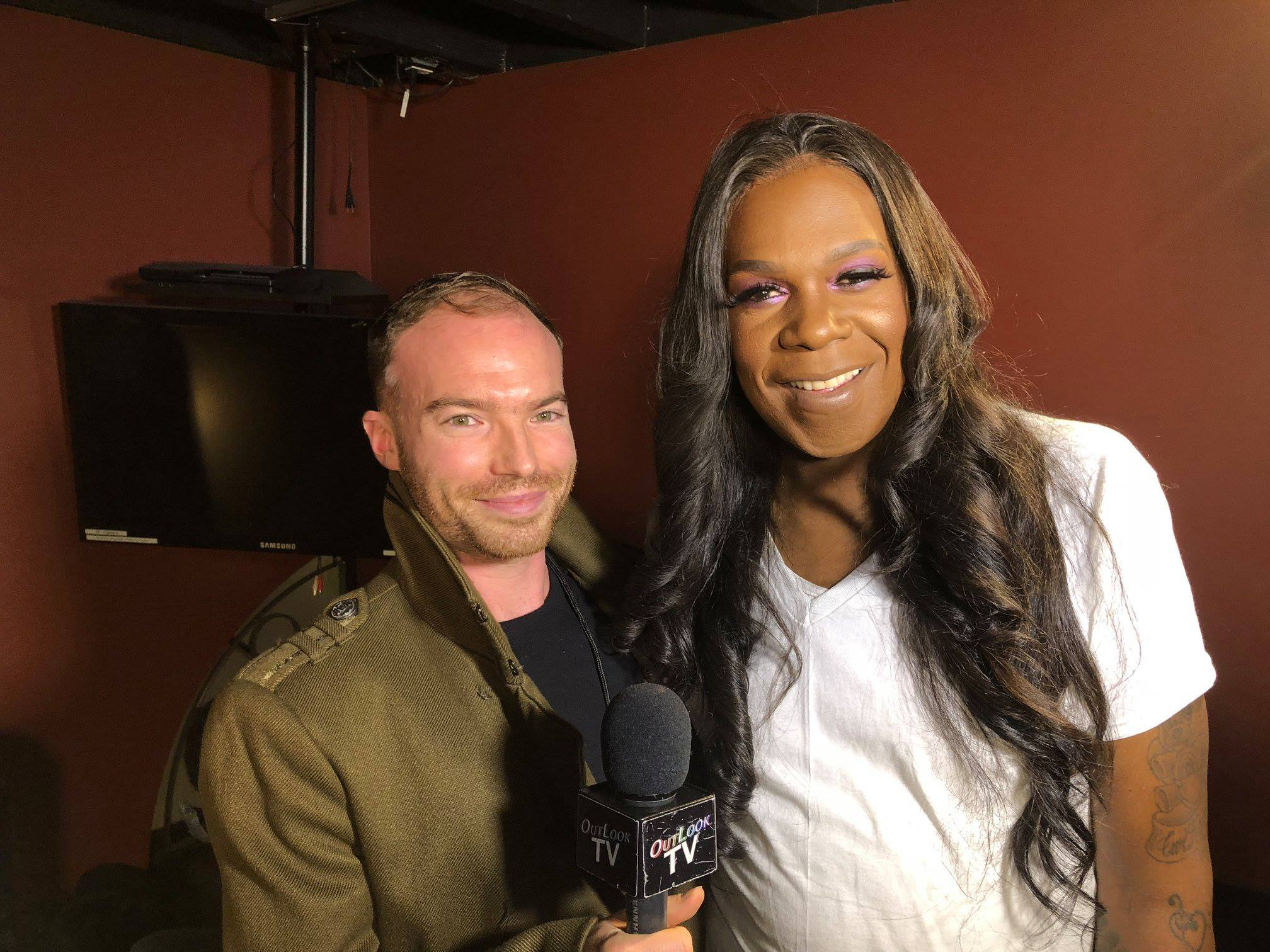 With  Queen Freedia , Vancouver, October 2018. Taken from  OutlookTV  on  OUTTv.