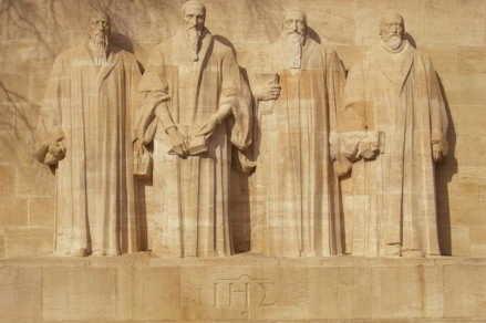 Monument to the Reformers in Geneva Switzerland