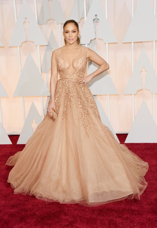 The always stunning J.Lo turned heads in Elie Saab Couture.  Loved the elegant look and find it to be a far departure from the va-va-voom she typically gives!