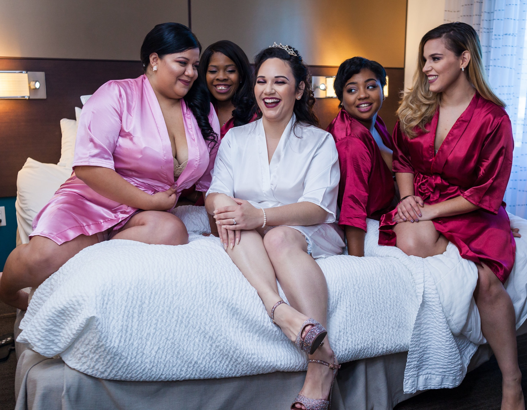 Photo Credit:  Dreampictures NY  | Location:  Residence Inn  by Marriott, Bronx, NY | Robes:  Stellas Groove Spot