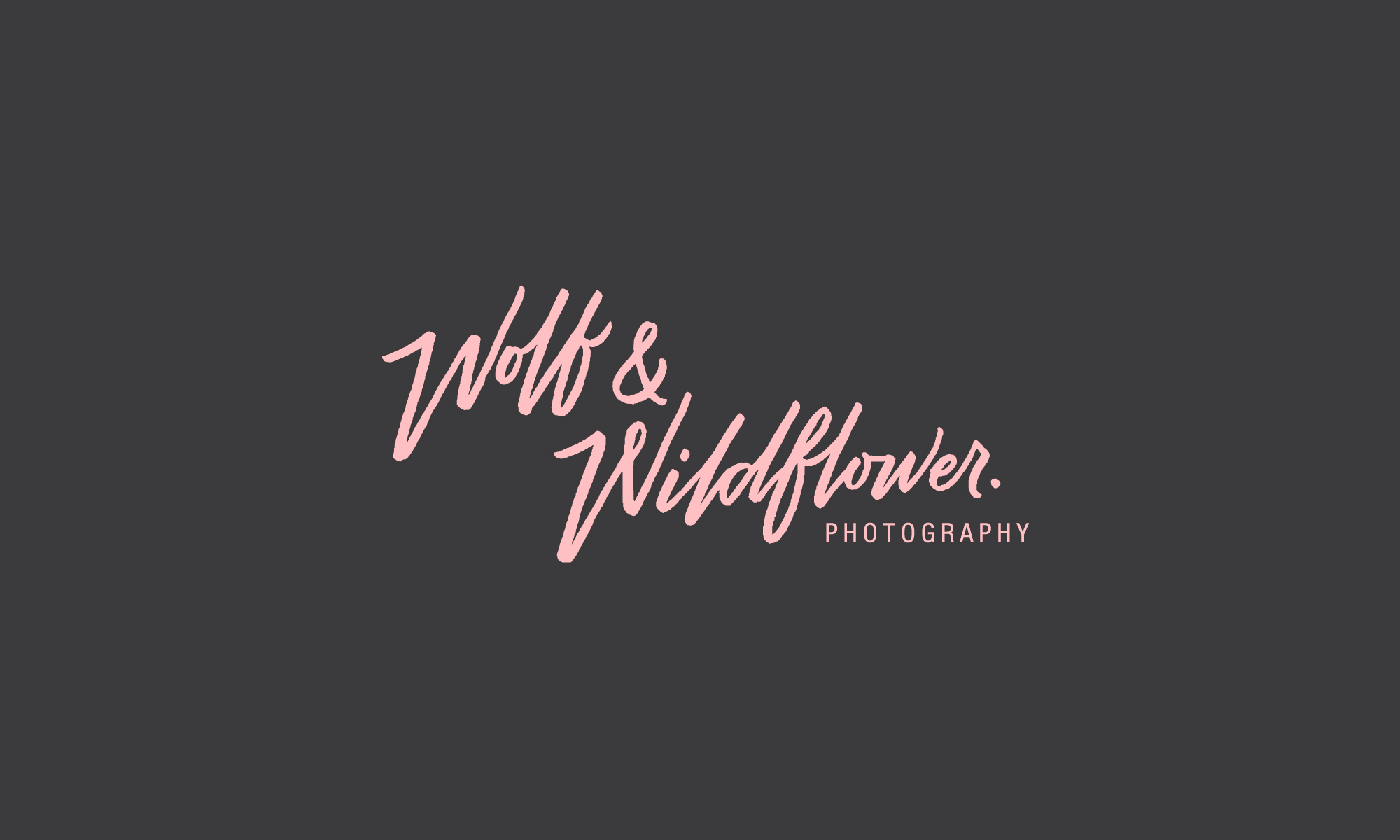 Wolf & Wildflower Photography