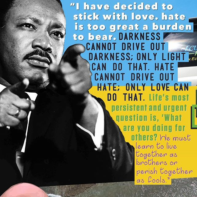 On Jan. 21, we celebrate the memory of an American idol. A man who worked diligently and tirelessly to be the change that he wanted to see in the world and ultimately died for what he believed in. His words should live on for eternity. 🙌🏼 . . . 🙌🏿 Martin Luther King Jr. ~ 1929 - 1968 . . . . . #mlk #mlkday #mlkquotes #martinlutherkingjr #martinlutherking #wordstoliveby #wordsofwisdom #notjustagimmick #martinlutherkingquotes #martinlutherkingday #quotestoliveby #ihaveadream #activist #civilrights #blacklivesmatter #thegreatawakening #blm #equalityforall #equality #downwithhate #erasinghate #goodvibes