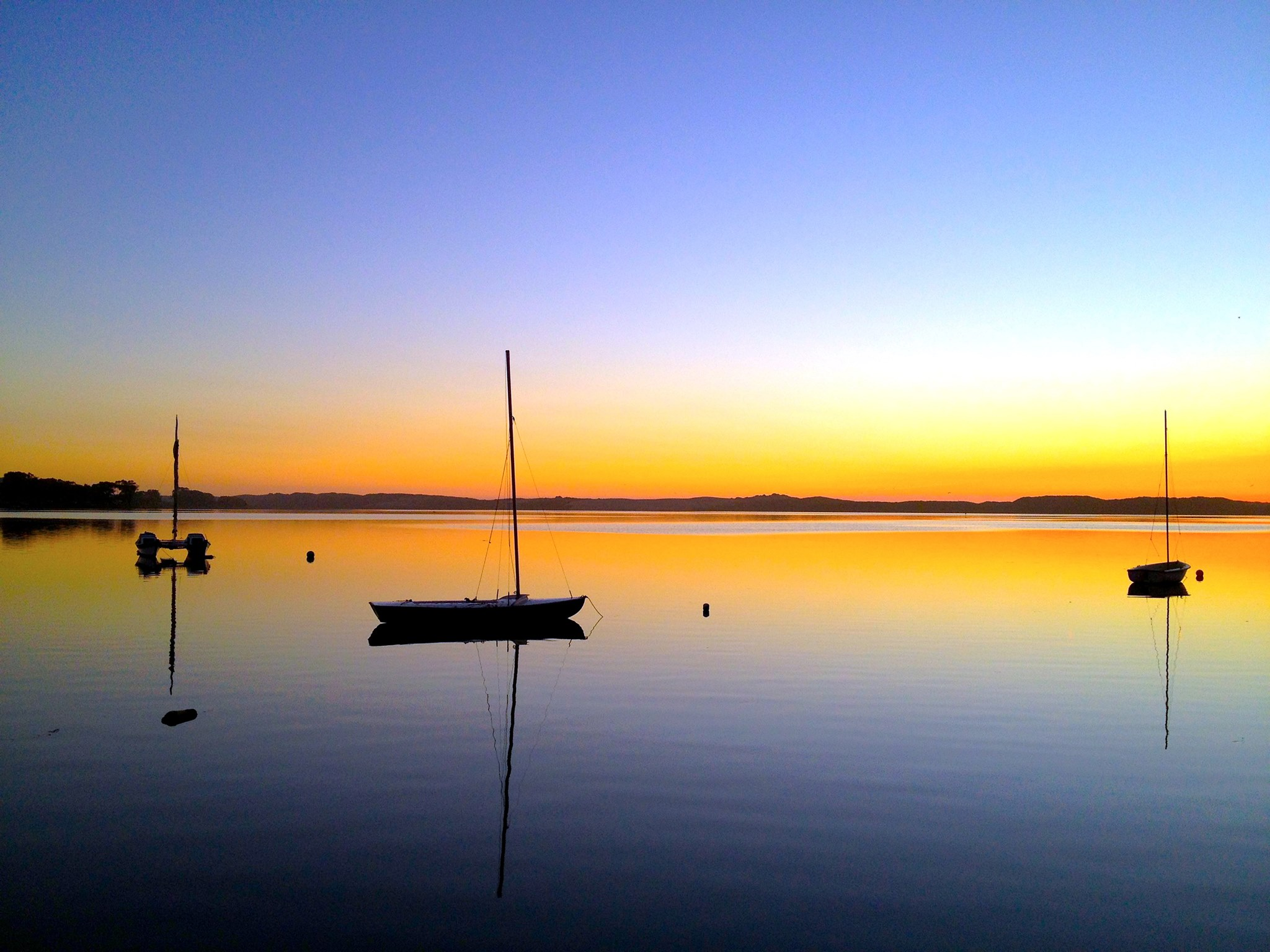 Baywood Park sunsets are unbelievably beautiful. This is your one of your views from the Inn...