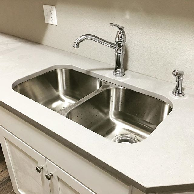 Faucets and sinks, oh my!  The finishing touches keep on going in and the #hexplex is looking better and better everyday! #moen #kitchenremodel #renovate #restore #themaydailyproperties