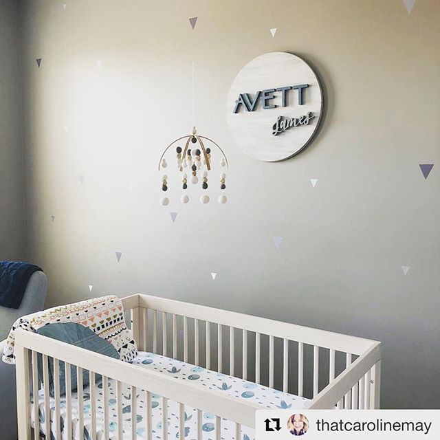 Working on some new product potential for our #Etsyshop.  Wood art ✔️ Making it unlike any other on the site - TBD.  #Repost @thatcarolinemay ・・・ New name art by @melissacarolmay got this nursery looking 👌🏼