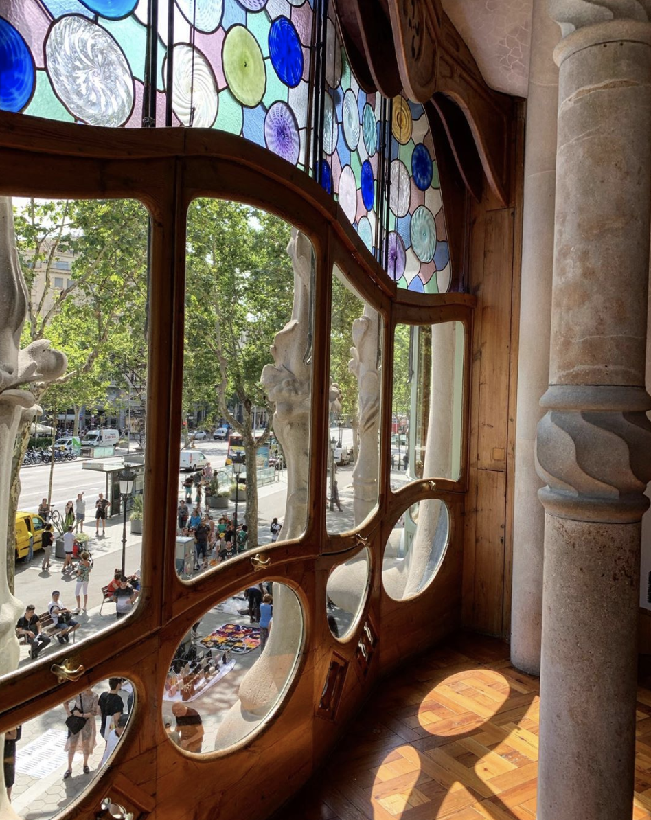 Gaudi's Casa Battlló