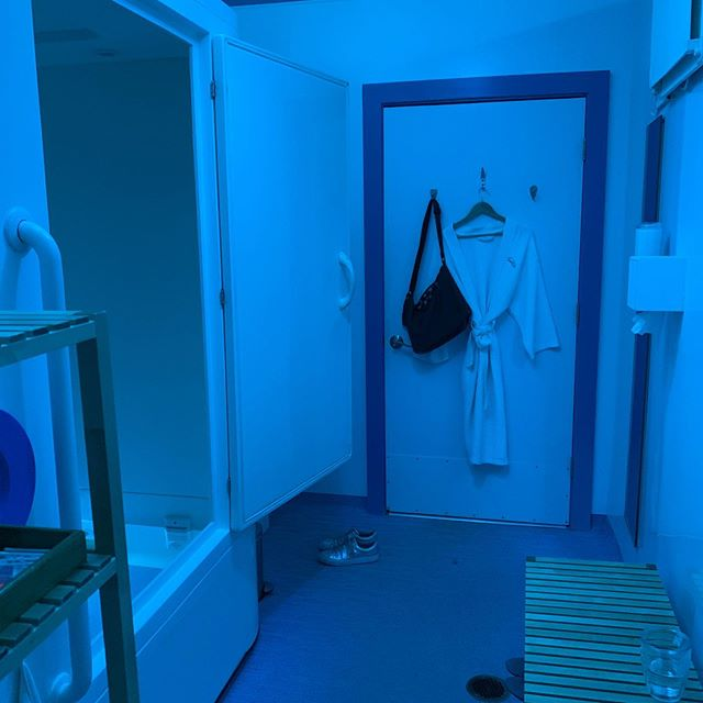 Love this place. Energy charge and relaxation all in one. 🌞 . . #realestatewithdevito #realestateagent #realtorlife #selfcare #floattank #sensorydeprivation #yourmomentofzen