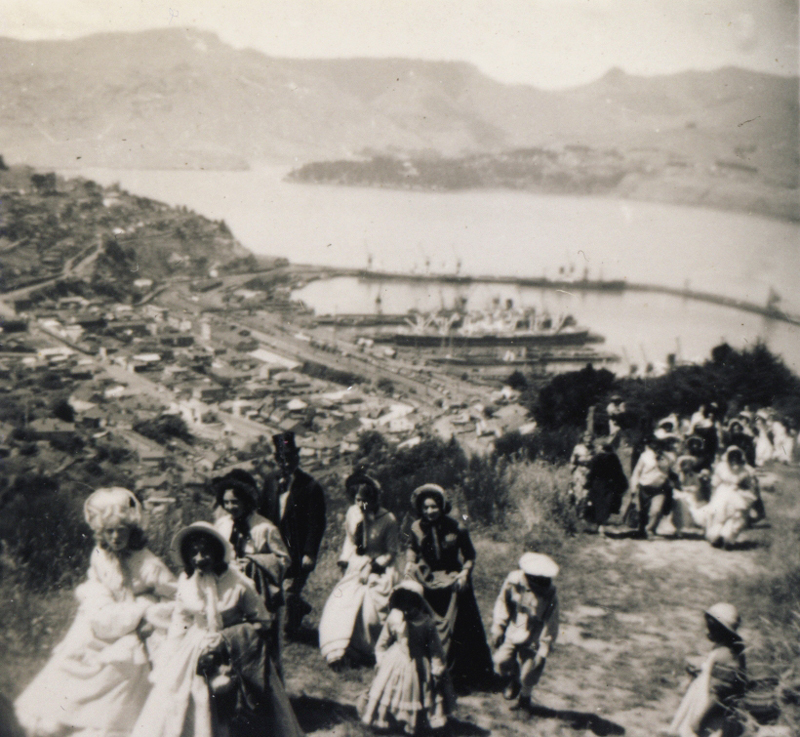 Centenary celebrations, 1950 - re-enacting the pilgrims' treck over the Bridle Path