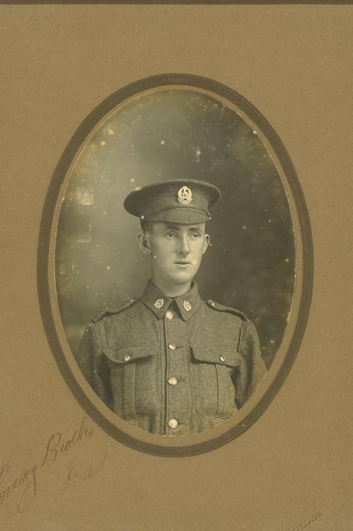 Bertie Huon Victor Harkess, 1916, George Henry James Hillsdon, 1852-1926, Silver gelatin print, 88 x 126 mm, Lyttelton Museum