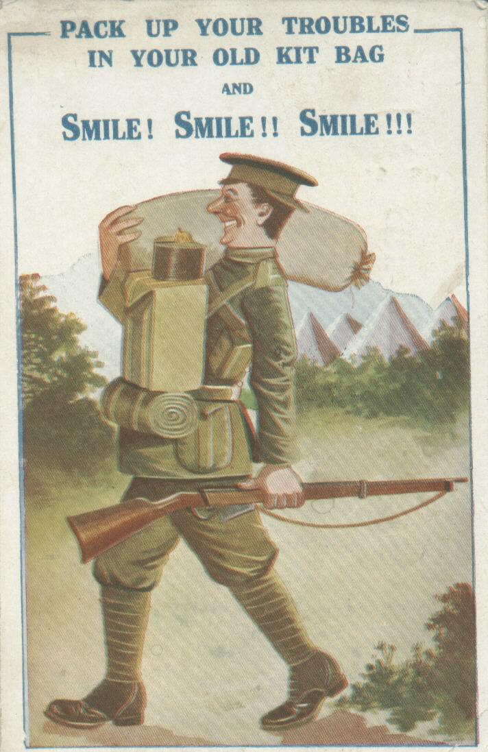 Postcard from World War One. Source: World War One Photos