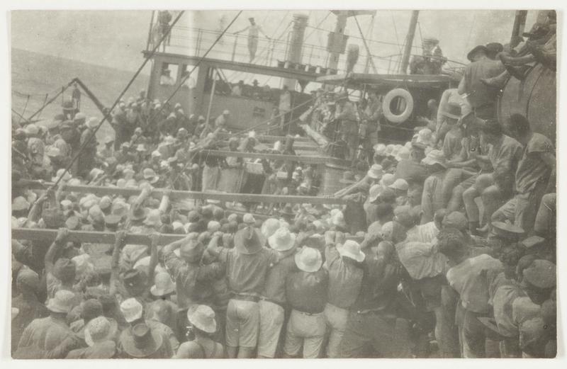 Father Neptune's Ceremony, Crossing the Equator. Source: http://ww1.sl.nsw.gov.au