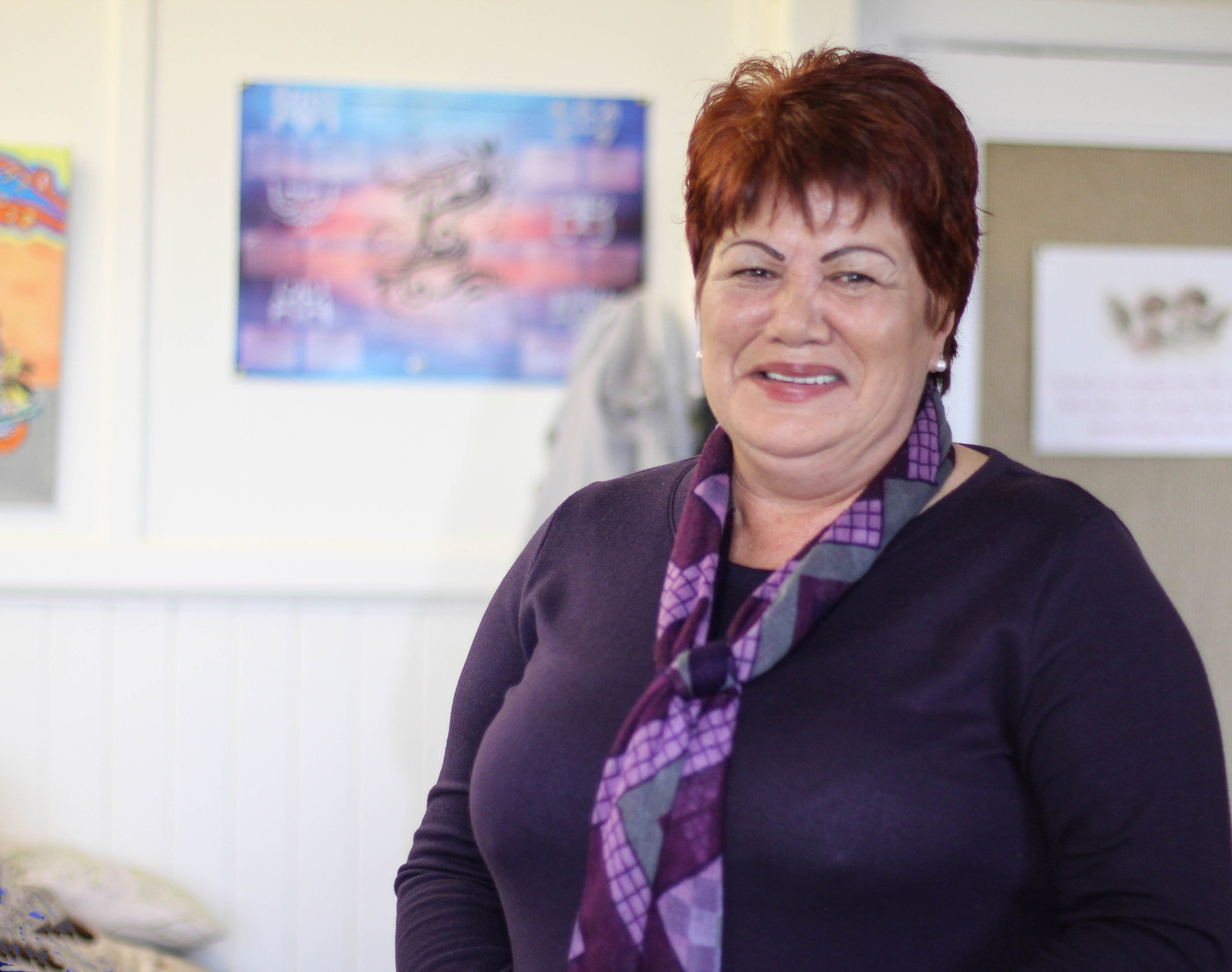 Christine Wilson, Chair of the Lyttelton–Mt Herbert Community Board and so much more.