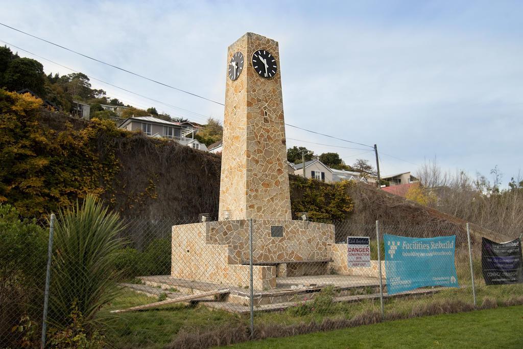 The restored Upham Clock