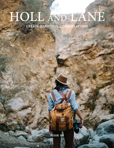 Holl & Lane Magazine   Cover Photo   Issue 9, Sept 2016