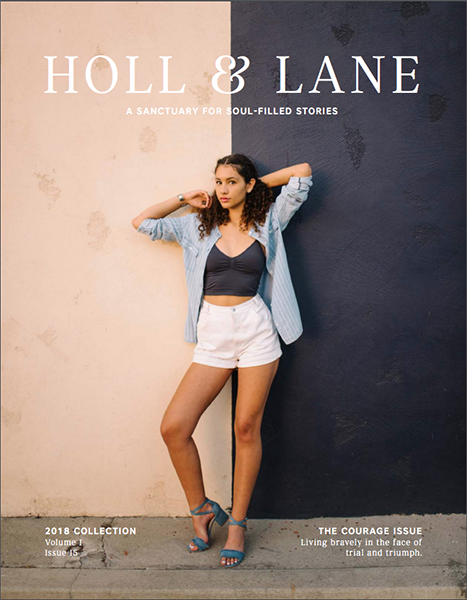 Holl & Lane Magazine   Cover Photo   Issue 15, Jan 2018