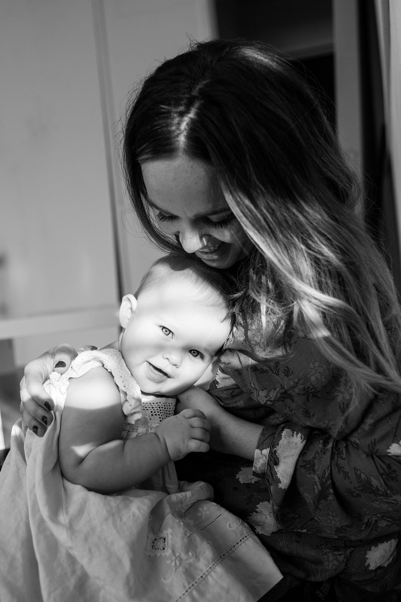 Kat & Adeline, 9 months