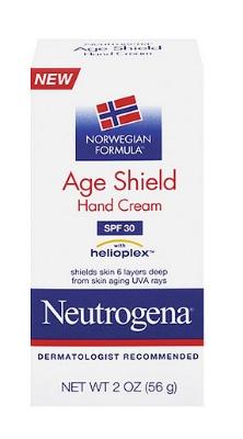 Neutrogena Norwegian Formula Age Shield Hand Cream SPF 30-Travel Size